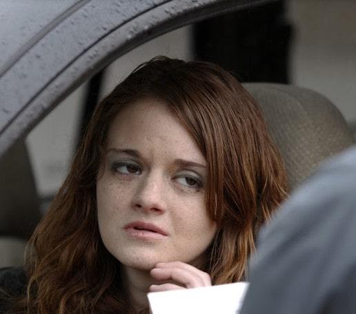 sad teen talking to a cop inside her car | what happens if i get a marijuana dui